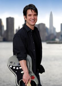 Gil Parris with Guitar