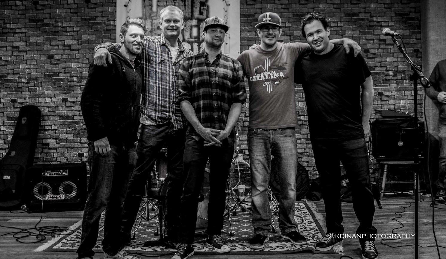 The Dave Kellan Band Black and White