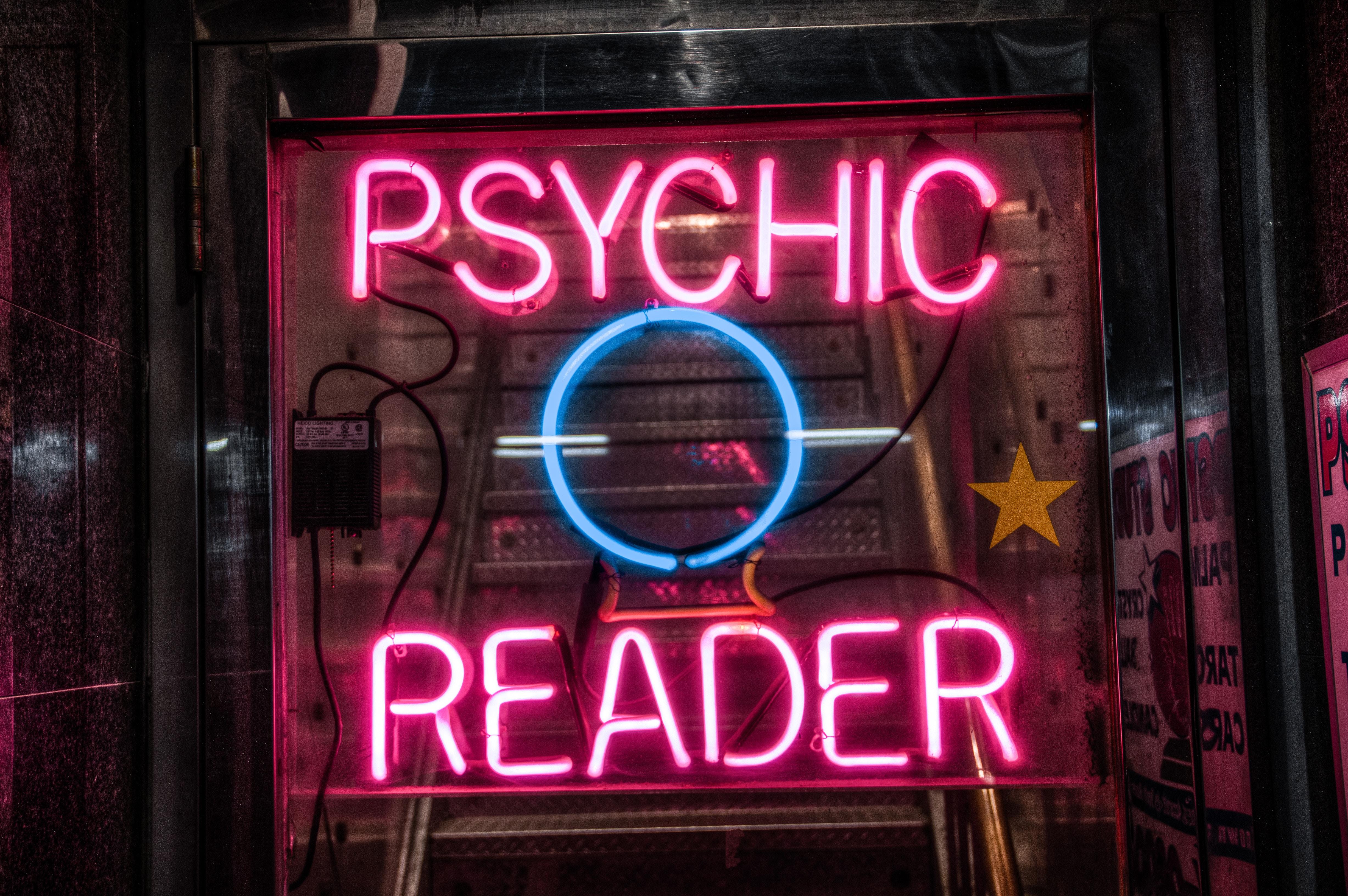 Psychic Reader Storefront